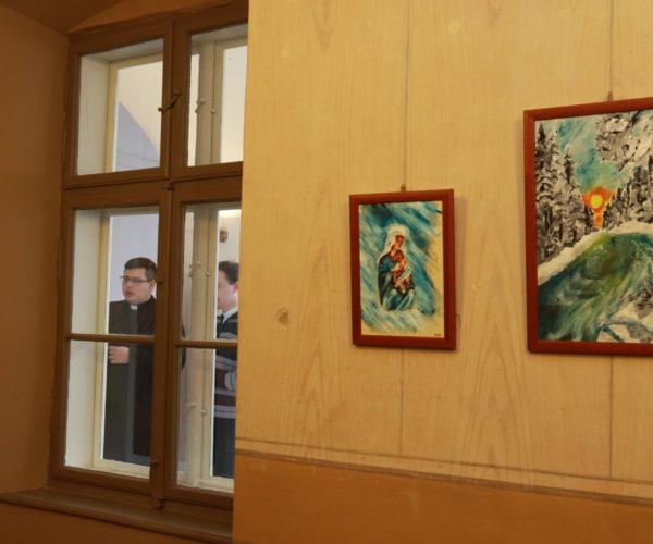 Meleg Máté festménykiállítása